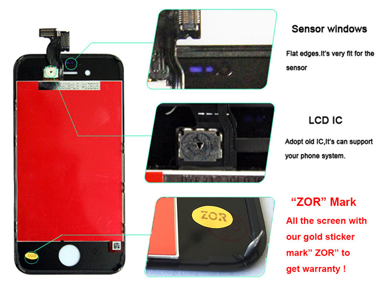 for iphone 4s lcd screen 8