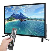 32In TV HD LCD TV 1366*768 HDR Real-time Conversion Television USB HDMI RF Antenna social sound technology 32'' large screen TV(China)