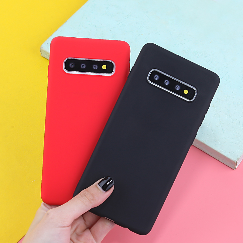 Image 3 - Case For Samsung Galaxy A7 2018 Cases Luxury TPU Cover For Samsung Galaxy A5 A3 A8 S10 S10E S10 S8 S9Plus J4 J6 2018 Plus Candy-in Fitted Cases from Cellphones & Telecommunications