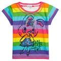 Дети девушка майка девушки одежда причинно дети футболки печать животных марка novatx мода полоса майка новое поступление KF1939