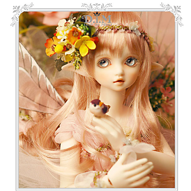 DIM Flowen doll bjd resin figures luts ai yosd volks kit doll not for sales bb fairyland toy gift iplehouse dollchateau lati fl