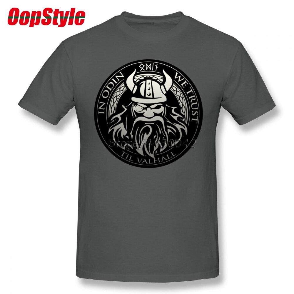 Vikings Sons Of Odin Valhalla   T  -  shirt   For Men Plus Size Cotton Team Tee   Shirt   4XL 5XL 6XL Camiseta