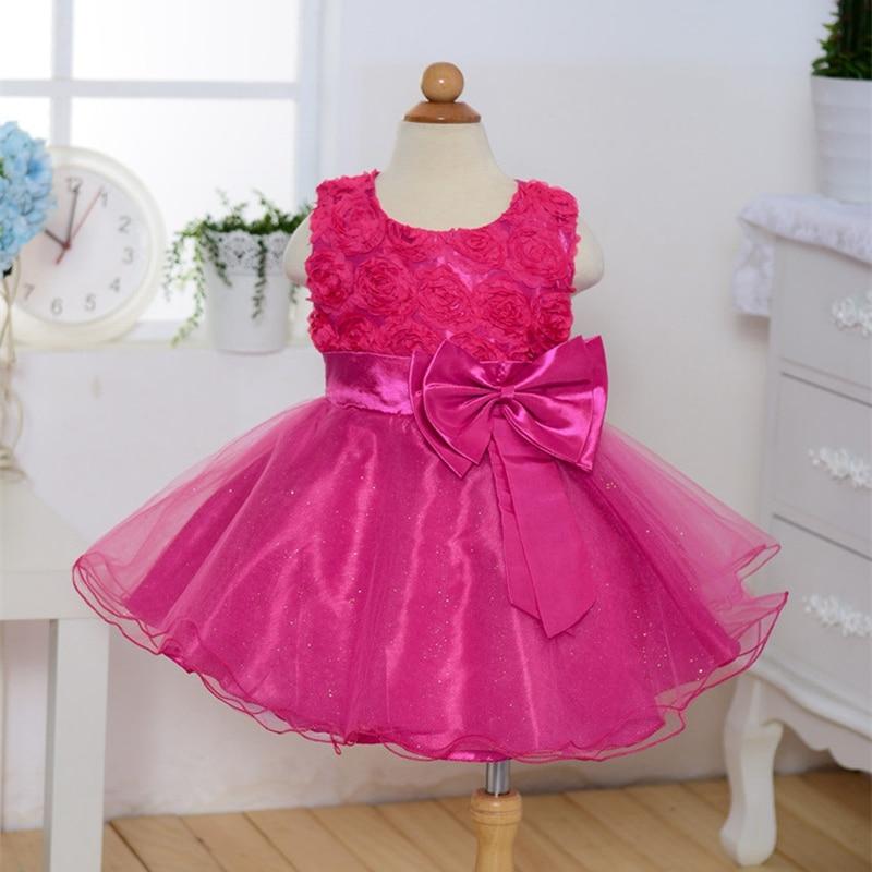 It's YiiYa Flower Girl Dresses 7 Colors Sleeveless O-Neck Floor Length Girls Pageant Dresses Vestidos De Noches Para Ninas 18