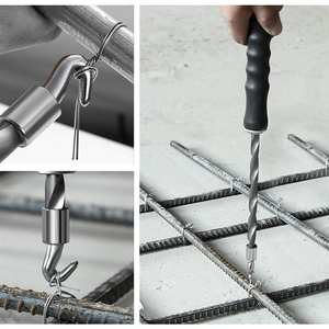 Construction-Winding-Tools Tying-Hook Wire-Knotting Semi-Automatic Rebar Pliers Twister