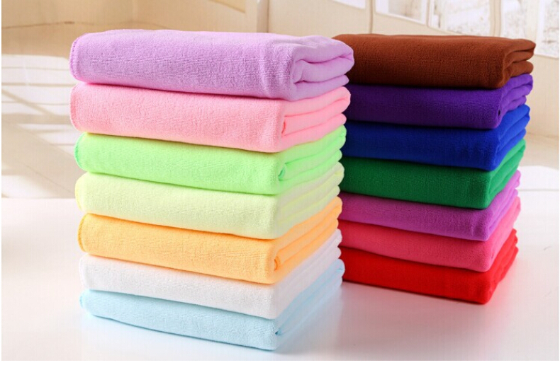 70x140cm Microfiber Towel Bath Beach Camping Swimming Drying Washcloth Shower UK