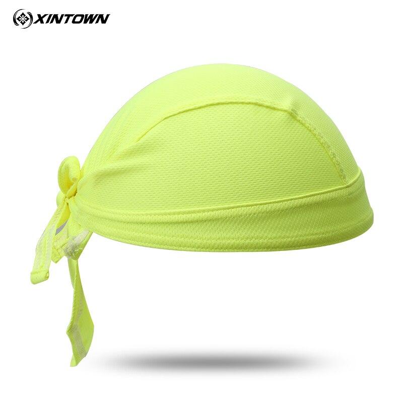 Hot Green Bike Hat Ciclismo Cycling Helmet Cap Women Men Bicycle Head Scarf MTB Team Pirate Scarf Headband Headwear