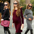 Cotton Autumn Maternity Dress For Pregnant Women Clothes Vestido Gravida Denim Pregnancy Maternity Dress Wear 502180