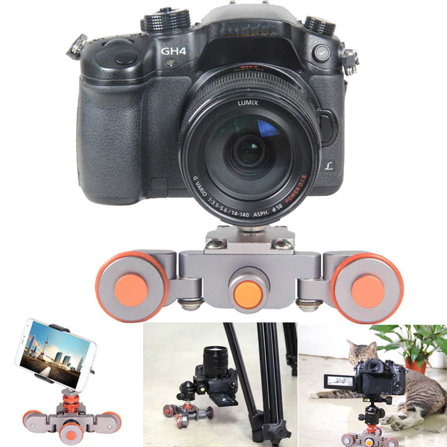 Electric Autodolly Video Car Motorized Dslr Dolly Track