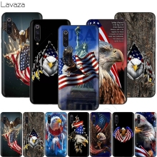 Lavaza American Eagle USA Flag Case for Xiaomi Mi 9 Pro 8 6