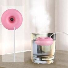 Мини Портативный usb-увлажнитель воздуха с пончиками, очиститель, арома-диффузор, паровой безопасный для домашнего использования, распылитель, ароматерапия