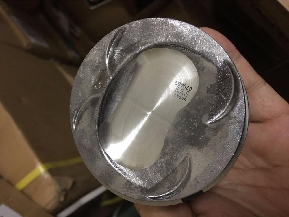 4PCS 40846600 engine piston for audi vw 1 4 tsi tfsi CAV CAVD 76 5mm diameter