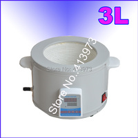 Free shipping, 3L Digital Display heating mantle