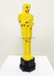 Replica 2015 Oscar Movie statue,Oscar Award Statuette,Academy Awards of Merit custom brick DIY building block