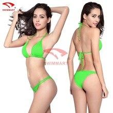 SWIMMART Brazilian Bikini Set 2017 New Padded Bikinis Sexy Underwear Push Up Swimwear Female Swimsuit Bathing Suit Women Bandage