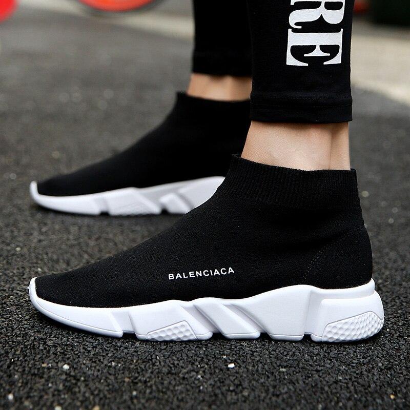 Chaussette chaussure pour course