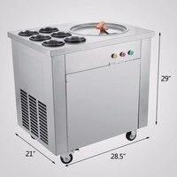 Ice Cream Maker For Yogurt Fried Ice Cream machine with Powerful compressor