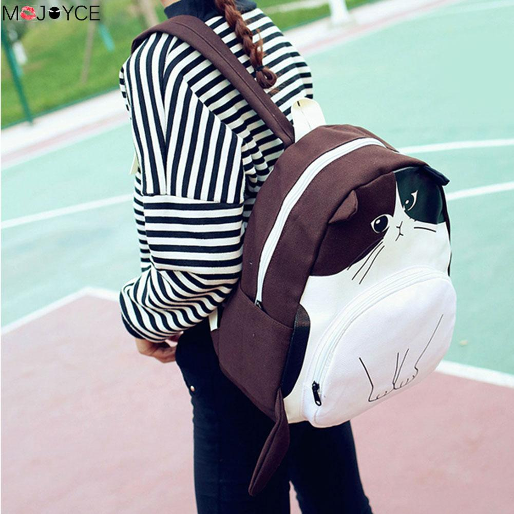 mulheres mochila de lona sacolas Interior : Bolso Interior do Entalhe