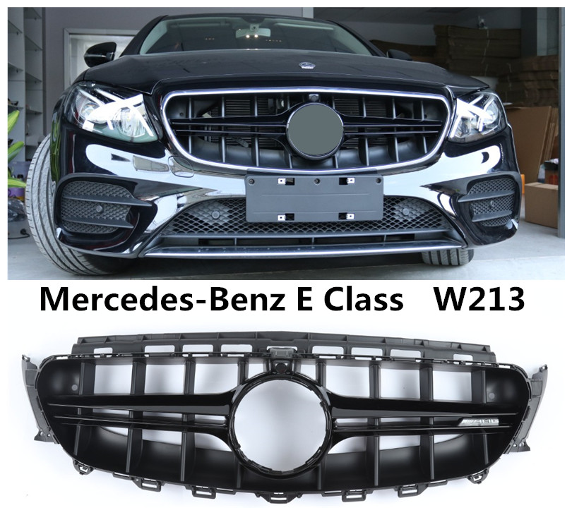 front grille racing grills for mercedes benz e class w213. Black Bedroom Furniture Sets. Home Design Ideas