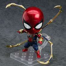 Avengers Endgame Iron Spiderman 1037 Iron Spider Cartoon Toy Action Figure Model Doll Gift недорого