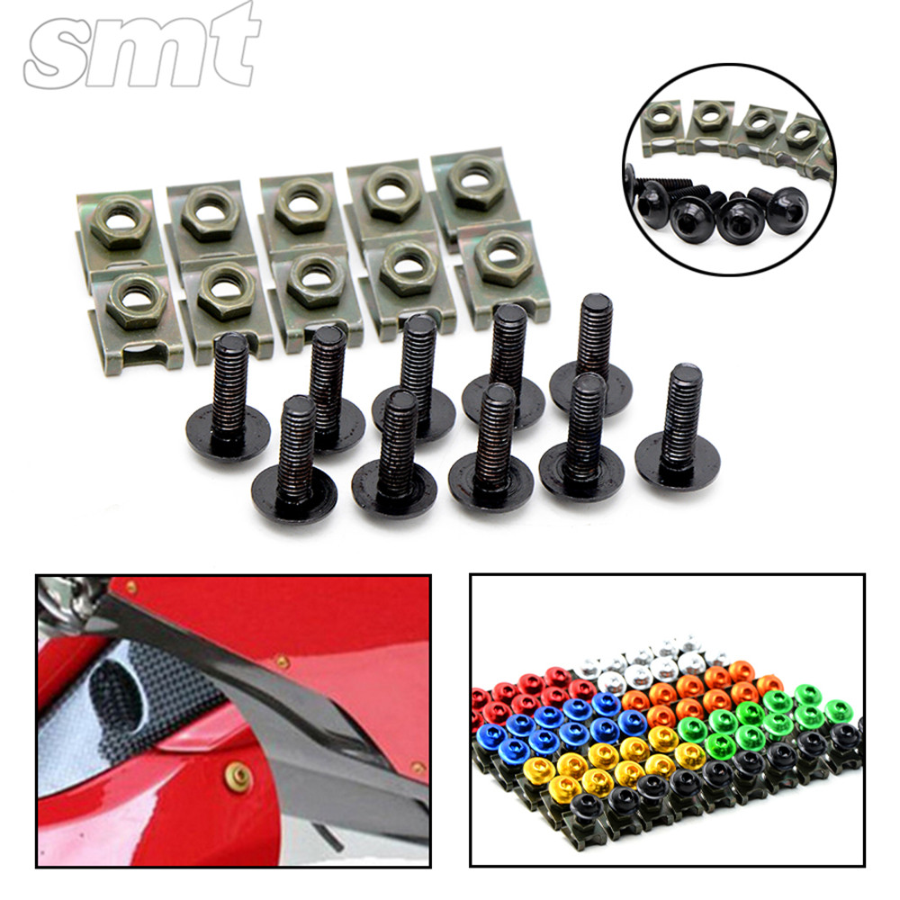 6mm motorcycle accessories fairing body bolts screws for ducati 916 916sps 1994 1998 95