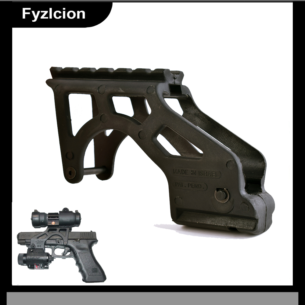 Hunting Tactical Rail Scope Mount Pistol Mount With Picatinny Rail For Glock Models with a Front Picatinny-type Accessory Rail
