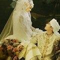 Muçulmano do vestido de casamento personalizado para homens e mulheres de manga comprida vestido de oração jilbab moderna terno Por Atacado/dropshipping 120944
