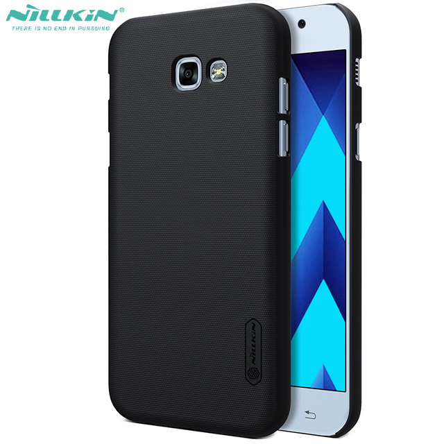 online store 8a059 e3e7d US $7.19 |Cover For Galaxy a7 2017 nillkin frosted shield protective case  for samsung a7 2017 a720f back cover-in Half-wrapped Case from Cellphones &  ...