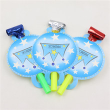 Kid's Birthday Little Prince Blowout Party Noisemakers Set