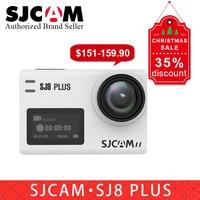 Новый подарок оригинальный SJCAM SJ8 plus wifi Экшн камера 12MP сенсорный экран водонепроницаемый спортивный DV camara pk eken h9r yi 4 k Экшн камера