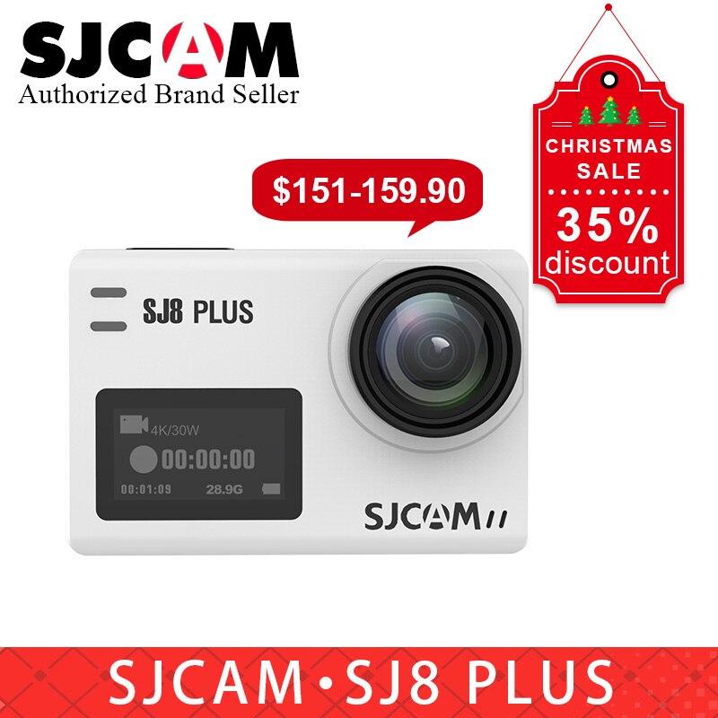 Nouveau cadeau Original SJCAM SJ8 plus caméra d'action wifi 12MP écran tactile étanche sport DV camara pk eken h9r yi 4 k Action cam