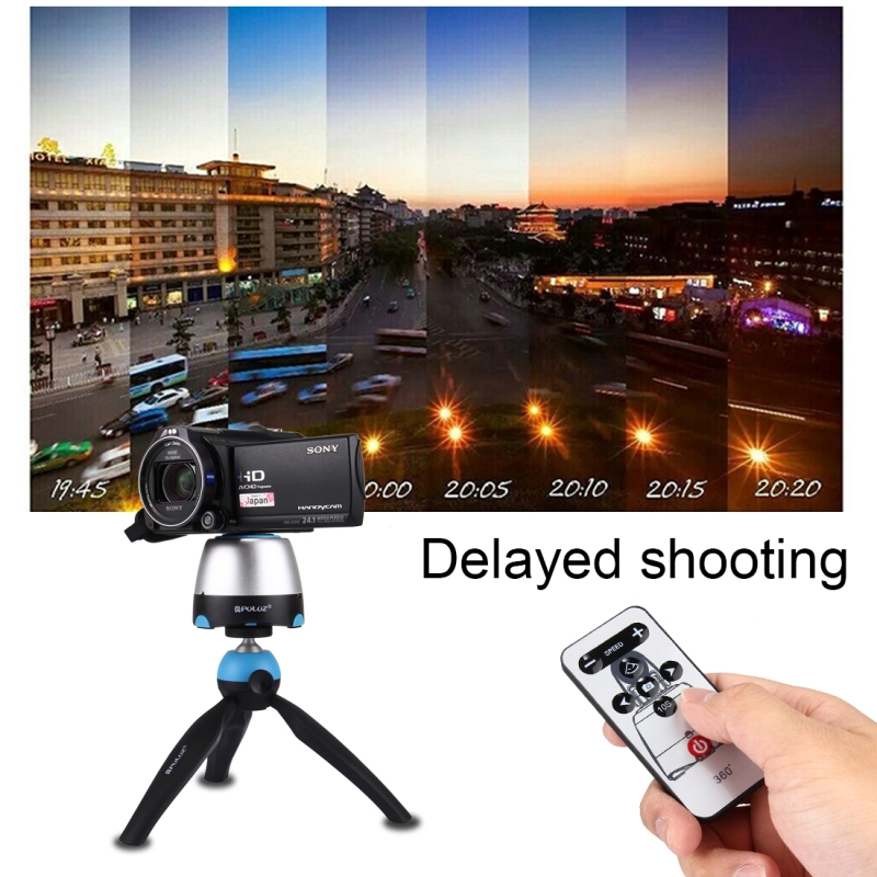 360 Panoramic Tripod Head Dslr Tripod Mount GoPro Clamp Phone Clamp With Remote Controller For Smartphones