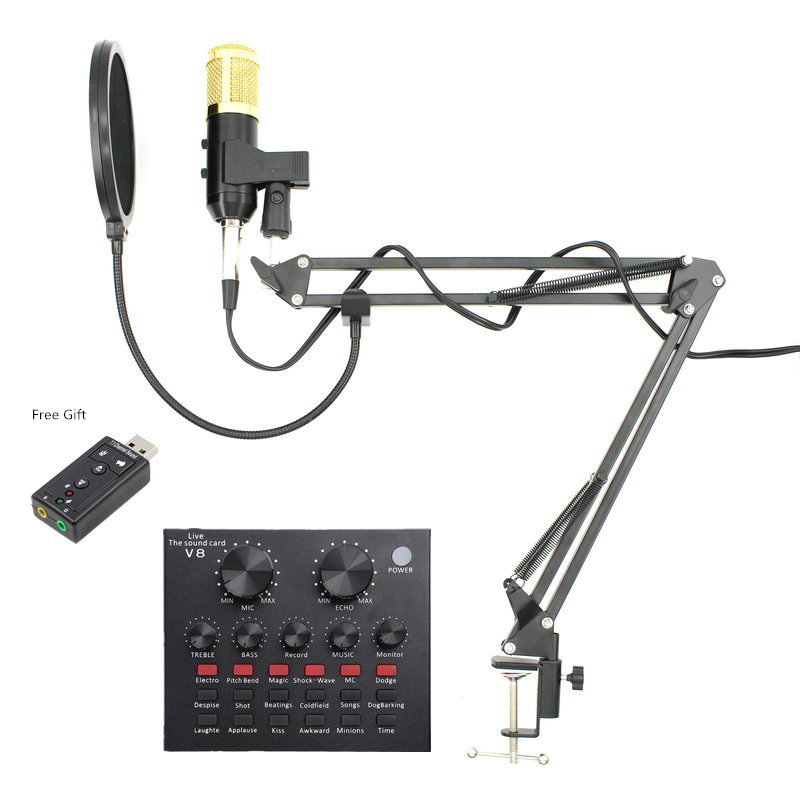 Condenser USB Audio-Studio Vocal Recording Computer-Bm Professional Microphone For KTV title=