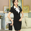 Skirt Suit Hot Sale Button Regular Sale 2016 New Overalls Occupation Suit Female Ol Slim Without Collar And Sleeved Occupation.