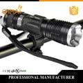 2000LM XM-L T6 Zoom Flashlight 18650 Battery Torch Bicycle Light  Lantern Cycling 5 Mode Bike Frame