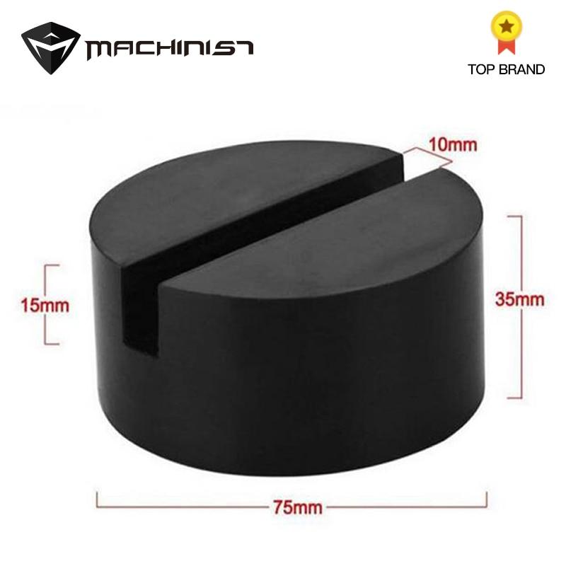 Car Lift Jack Pad Disc Hydraulic Black Jack Disk  Jack Stand Black Rubber Slotted Floor Pad Head Skid Increased Cushion Soft Pad