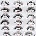 20 estilos Visofree Cílios Postiços Bagunçado Cruz Grosso Patudo Eye Lashes Handmade Natural Falso Eye Lashes Maquiagem Profissional