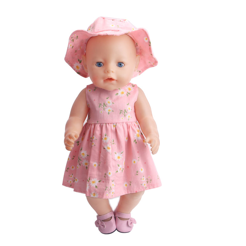 43CM Zapf Baby Born Doll Clothes All kinds of style clothes children Christmas gift free shipping the doll F233