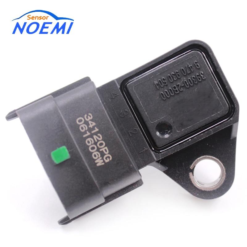 YAOPEI High Quality NEW MAP Sensor 39300-2B000 9470930504 Fit For Hyundai Kia Auto Cars 393002B000