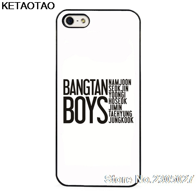 Hameinuo Bts Bangtan Boys V Kim Tae Hyung Cell Phone Cover Case For Iphone 4 4s 5 5s Se 5c 6 6s 7 8 X Plus Half-wrapped Case Phone Bags & Cases