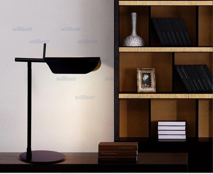 Tab f tafellamp kapper qsgerby moderne ontwerp led licht