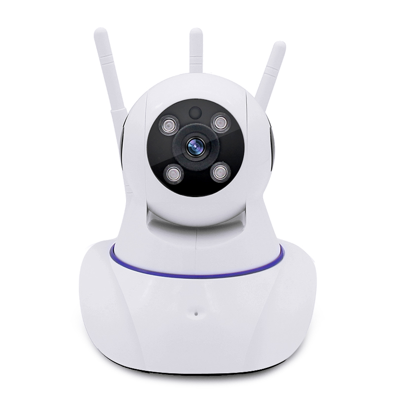 YobangSecurity 960P HD Mini Wireless WiFi Network IP Camera Baby Pet Monitor with Two Way Audio Motion Detection With 3 Antenna