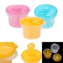 Дозатор для молочного порошка, портативный контейнер для хранения продуктов питания для младенцев, контейнер для ухода за детьми, бутылочка для путешествий для малышей, стиль