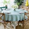 אירופה שולחן בד מוצק צבע עגול שולחן בד מפת שולחן ארוחת ערב שולחן כיסוי עבור חתונת בית אירועים קישוט ארוחת ערב שולחן-במפות שולחן מתוך בית וגן באתר