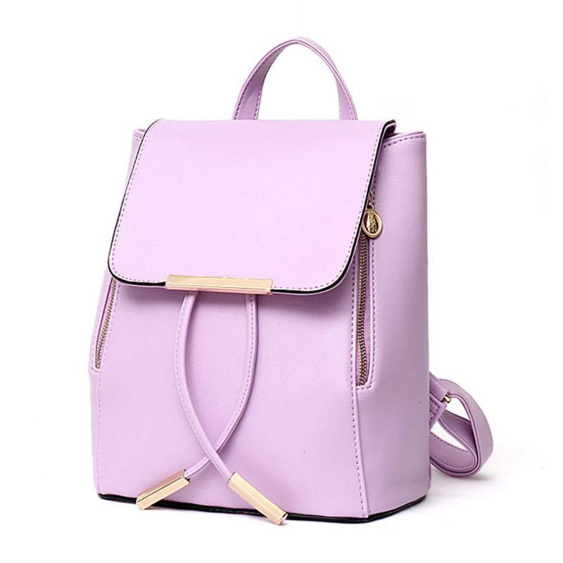 Purple Backpack Purse | Cg Backpacks