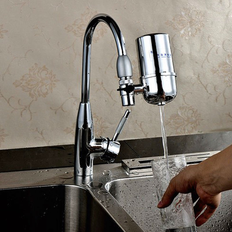 Best Faucet Mounted Filtration System in Kitchen 7 stages Composite ...