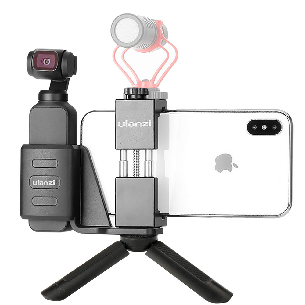 DJI Osmo Pocket Accessory Mount Phone Holder,Osmo Pocket Mount + Aluminum Phone Holder + Mini Tripod Stand  for DJI Osmo PocketDJI Osmo Pocket Accessory Mount Phone Holder,Osmo Pocket Mount + Aluminum Phone Holder + Mini Tripod Stand  for DJI Osmo Pocket