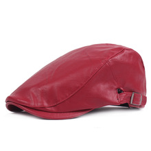 Beret-Cap Newsboy-Hat Flat Casual Golf Unisex Solid QBHAT Driving Plain QB72 Ivy Forward
