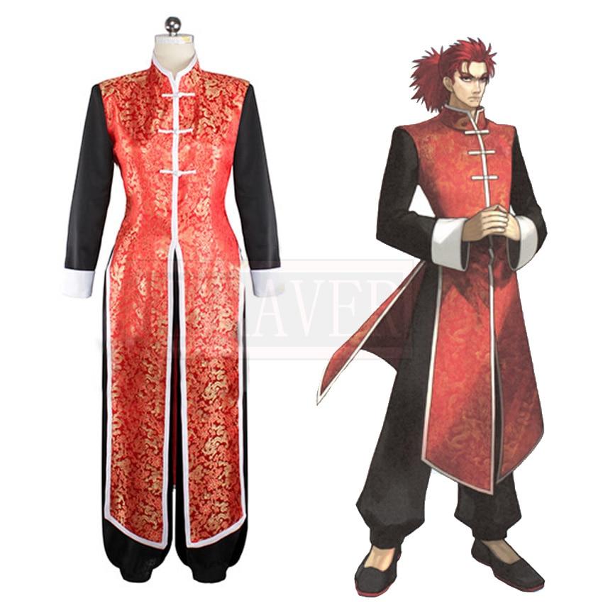 Fate Extra Li Shuwen Cosplay Costume Custom Made Free Shipping