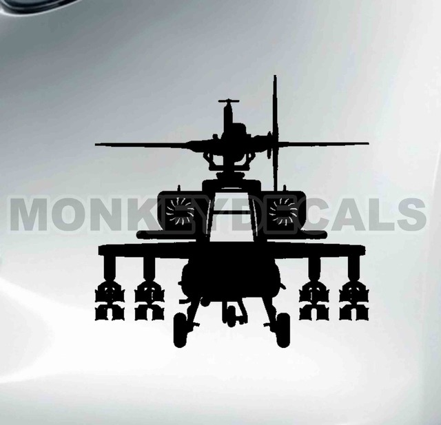 Car Vinyl Decal Cool Helicopter Motorcycle Car Tank Boat Quality - Cool boat decals