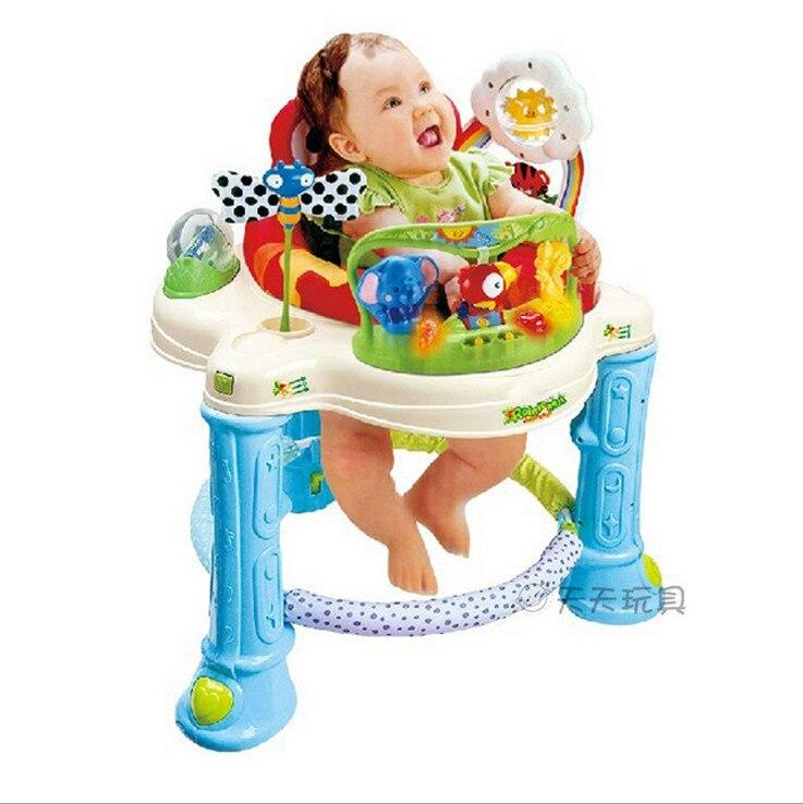 06761214a0c4 Free shipping Musical Frog Baby Walker Jumper Rainforest Jumperoo ...